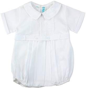 Feltman Brothers Baby Boys Christening Baptism Bubble Outfit with Collar 3M