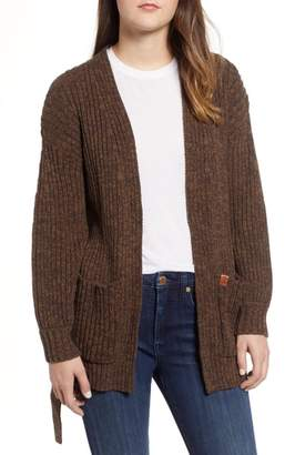 Obey Eleanor Rib Knit Cardigan