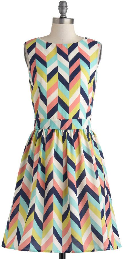 Louche Arrow Your Boat Dress
