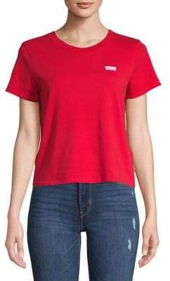 Levi's Graphic Surf Cotton Cropped Tee