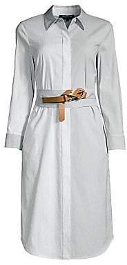 Lafayette 148 New York Women's Peggy Parkside Stripe Cotton Shirtdress
