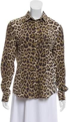 7df2b635c767e Animal Print Blouse - ShopStyle