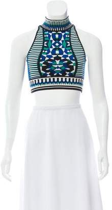 Torn By Ronny Kobo Knit Crop Top