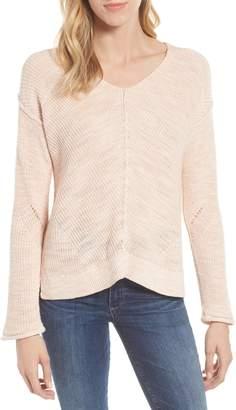 Caslon Marl V-Neck Sweater