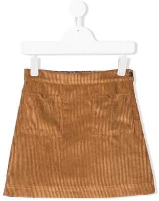 Caffe Caffe' D'orzo corduroy short skirt