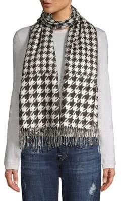 Lord & Taylor Houndstooth Wrap Scarf