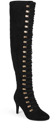 Journee Collection Trill Wide Calf Thigh High Boot - Women's