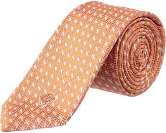Versace Coral Silk Tie