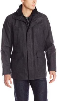 Calvin Klein Men's Wool Walking Coat with Bib