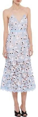 LA MAISON TALULAH Infatuation Crochet A-Line Dress