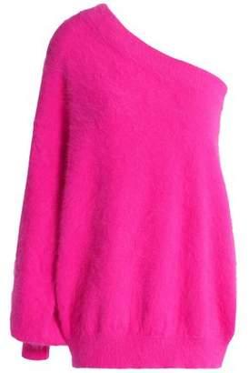 Emilio Pucci One-Shoulder Angora-Blend Sweater