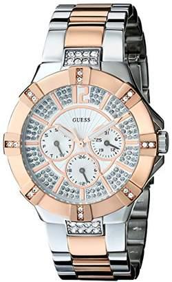 GUESS Women's U0024L1 Dazzling & Rose-Gold-Tone Sport Watch