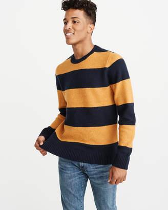 Abercrombie & Fitch Varsity Crew Sweater
