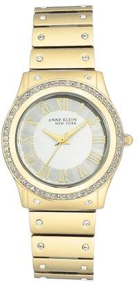 Anne Klein Women's Swarovski Crystal Bracelet Watch, 32mm
