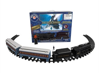 Express Lionel Read-To-Play Train Playset The Polar Passenger Car Set