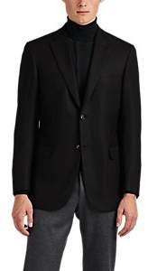 Brioni Men's Ravello Cashmere Two-Button Sportcoat - Black