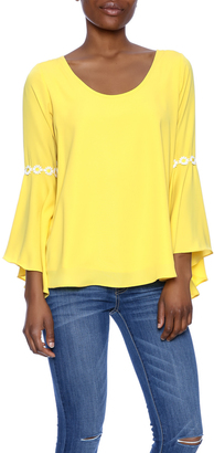 VaVa Yellow Blouse $65 thestylecure.com