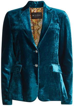 Etro Velvet Jacket with Silk
