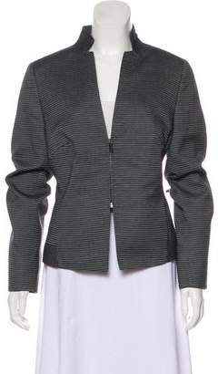 Akris Punto Long Sleeve Notched Collar Blazer