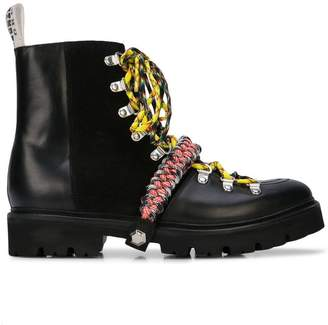 House of Holland Vivid hiking boots