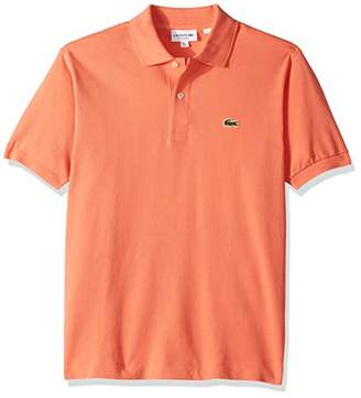 Lacoste Short Sleeve Pique L.12.12 Classic Fit Polo Shirt, L1212,Large