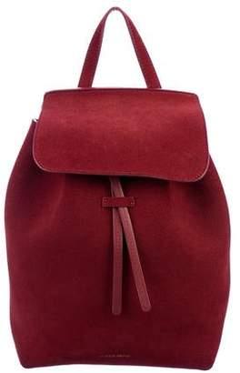 Mansur Gavriel Mini Suede Drawstring Backpack