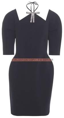 Marni Embellished cut-out dress