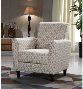 Best Master Furniture Tan/Wheat Pattern Accent Chair