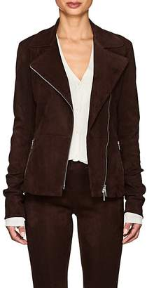 The Row Women's Paylee Suede Moto Jacket