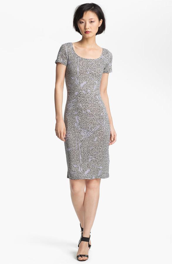 Twenty8Twelve 'Moore' Print Jersey Dress