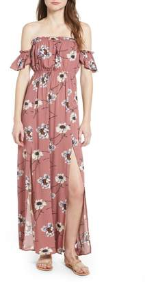 Ten Sixty Sherman Off the Shoulder Maxi Dress