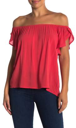 Velvet by Graham & Spencer Caris Tulip Sleeve Shirt