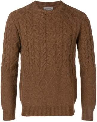 Corneliani cable knit sweater