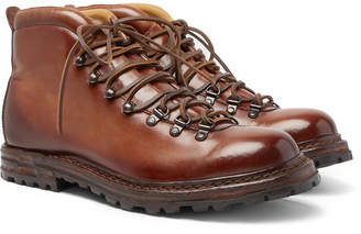 Officine Creative Burnished-Leather Boots