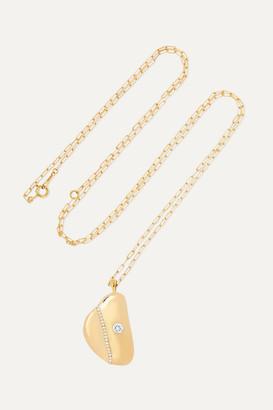 Cvc Stones W3 18-karat Gold Diamond Necklace - one size