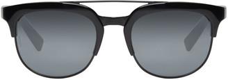 Dolce & Gabbana Black Double Bridge Sunglasses $160 thestylecure.com