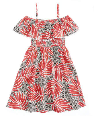 Epic Threads Smocked Off-The-Shoulder Dress, Big Girls, Created for Macy's