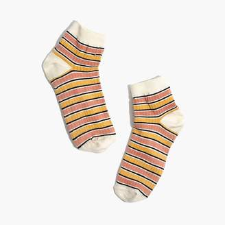 Madewell Striped Ankle Socks