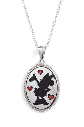 Disney Minnie Mouse 'I Choose to Be Inspiring' Pendant Necklace