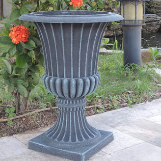 Griffith Creek Designs Spartan Fiber Clay Urn Planter