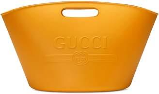 Gucci logo top handle tote