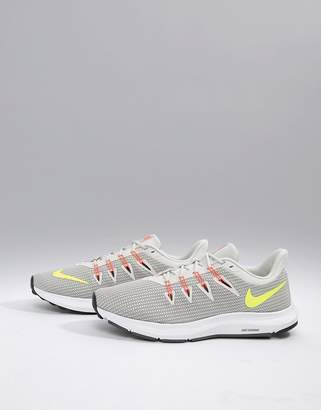 Nike Running Quest sneakers in grey aa7403-003
