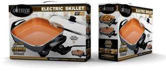 Gotham Steel Electric Skillet, with Non Stick TiCerama Coating As Seen on TV! Copper