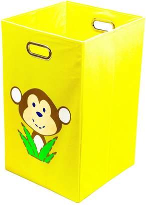 Nuby Monkey Yellow Folding Laundry Bin