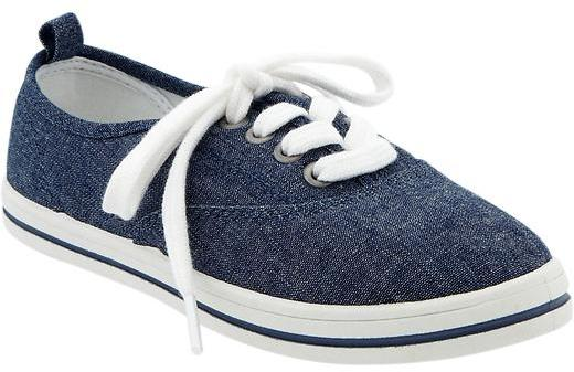 Old Navy Girls Lace-Up Sneakers