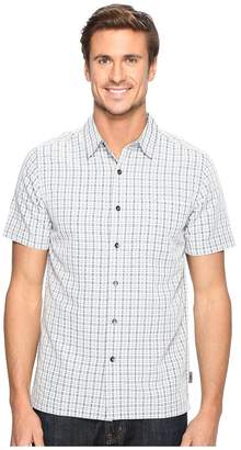 Royal Robbins Mojave Pucker Plaid Short Sleeve Men's Short Sleeve Button Up