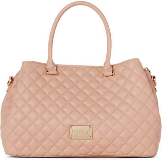 Bebe Blush Danielle Quilted Satchel