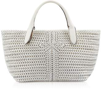 Anya Hindmarch Chalk Calf Leather The Neeson Tote