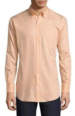 Peter Millar Gingham Cotton Button-Down Shirt