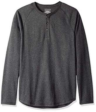 ee5bf5411d Amazon Essentials Men's Slim-Fit Long-Sleeve Henley T-Shirt,Small